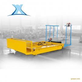 百特智能转运10T蓄电池电动轨道平板车搬运电子元器件轨道搬运车BXC