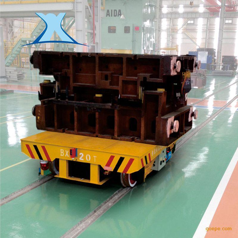 百特智能普通轨道搬运车 铁路大吨位牵引车 电缆卷筒无轨直行运输车非标定制