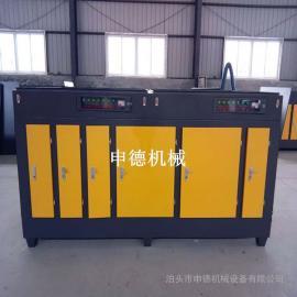 橡胶厂除味杀菌光氧设备_除臭光氧催化器生产厂家