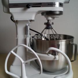 美国KitchenAid厨宝5K5SS厨师机和面打奶油机 K5冰淇淋搅拌机