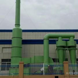 铝合金熔炼干式湿式组合处理设备