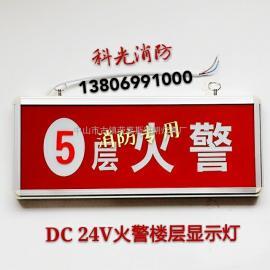 DC 24V消防火警门灯