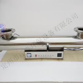 净淼厂家供应过流式紫外线消毒杀菌器水处理仪