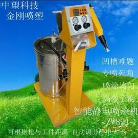 中望科技ZW891 静电喷涂机 深角凹槽喷粉机