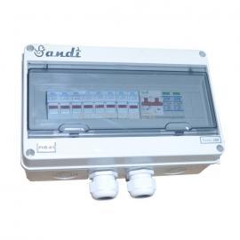 三迪光伏专用直流防雷汇流箱4路配电箱带汇流排厂家品质保障