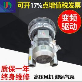 11KW双段式侧风道环保设备专用高压风机