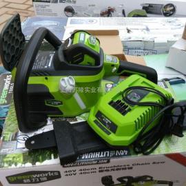 格力博 greenworks 40V无刷链锯 电锯伐木锯家用 电链锯