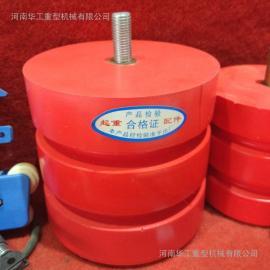 龙门吊行车聚氨酯缓冲器 JHQ-A-1 起重机缓冲器 红色缓冲块