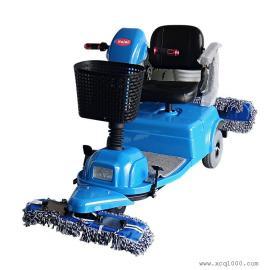 威德尔工厂仓库瓷砖地面清洗用威德尔电动尘推车洗拖一体机CS-310D