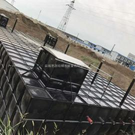 地埋式箱泵一�w化有底板的安�b方法