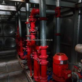 图集XBZ-144-0.50/20-M-II装配式BDF大模压块抗浮箱泵一体化