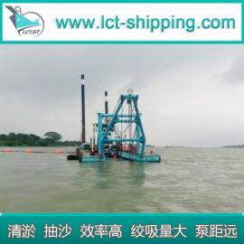 海上工程船吹填抽沙项目合作船舶