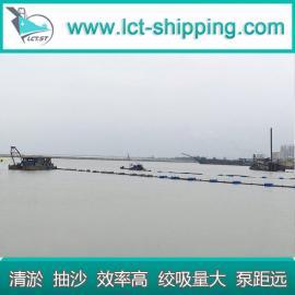 清淤绞吸船 绞吸式挖泥船 清理河道工程船