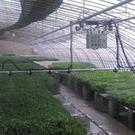 温室大棚调速遥控自走式平移喷水施肥育苗喷水车喷灌机厂价