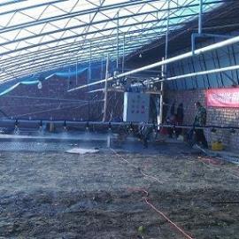 自动往返调速遥控温室大棚蔬菜育苗喷水施肥喷灌机大棚喷水车