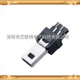 MINI USB 8P 公头焊线式