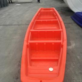 博兴6米运输船养殖塑胶船渔业捕捞船带活鱼仓可配船外机