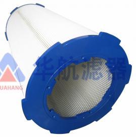 喷涂喷塑粉末回收滤芯 六角卡盘快拆式除尘滤筒 350*660特价促销