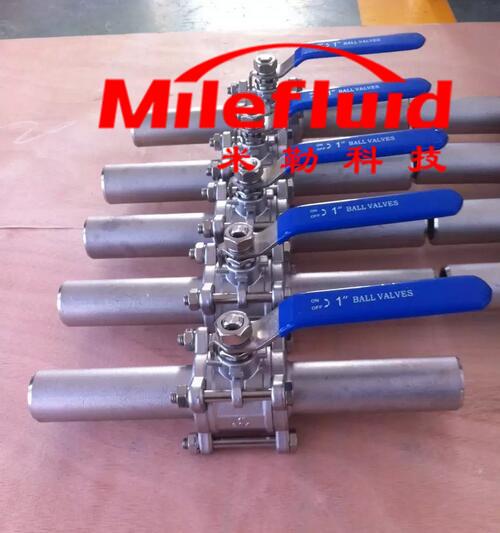 卫生级加长自动焊球阀,304不锈钢加长自动焊球阀生产厂家