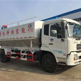 东风轻卡6吨散装饲料运输车价格