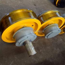 φ500×150双边车轮组 单双梁起重机车轮组 铸钢锻件行车轮