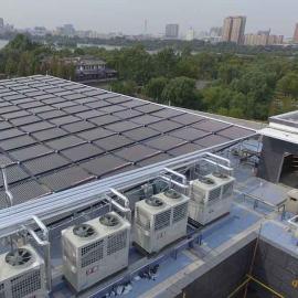 采nuan热水新选ze――da型太阳能+空气能热力系统