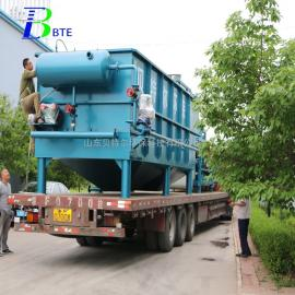 贝特尔溶气气浮机 塑料造粒废水处理设备 运行稳定