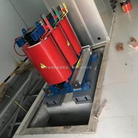 防剪贴阻尼弹簧干式变压器减震垫矩阵式减震器