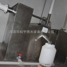地下室带提升不锈钢隔油池