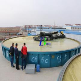 贝特尔高效浅层气浮机 印染厂废水处理设备 技术先进 操作简单