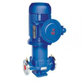 CQB-L立式管道磁力��颖� �o泄漏耐腐�g管道�x心泵 可定做防爆型