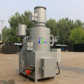 BTExianhuoxiao型工业la圾焚烧炉 贝特er环保 烟qi达biao排放WFS