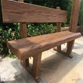 水泥桌椅仿木漆五湖围栏仿木涂料