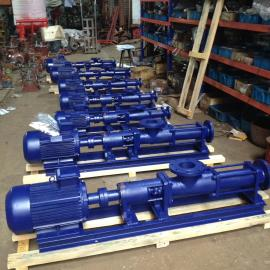 G40-1防爆变频单螺杆泵 *铸铁螺杆泵源头厂家供应