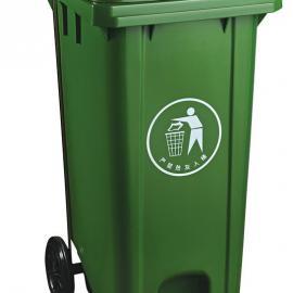 锡山240L加厚挂车塑料垃圾桶-锡山240L加厚挂车户外垃圾桶