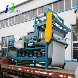 高品质带式压滤机 印染污泥处理设备――贝特尔环保