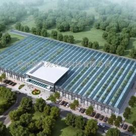 温室大棚型生态餐厅设计安装*公司