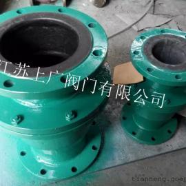 H42J-10C衬胶立式止回阀
