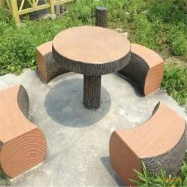 园林仿木摆件仿木漆