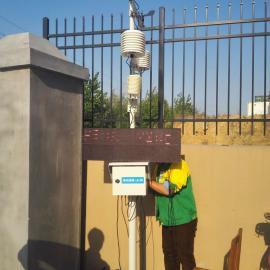施工现场塔吊旁在线扬尘检测仪环保认可LB-PH10 PM10 PM2.5