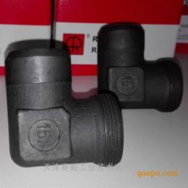 雷斯特利TN94W焊接式直角接头进口卡套式接头液压接头管路连接件