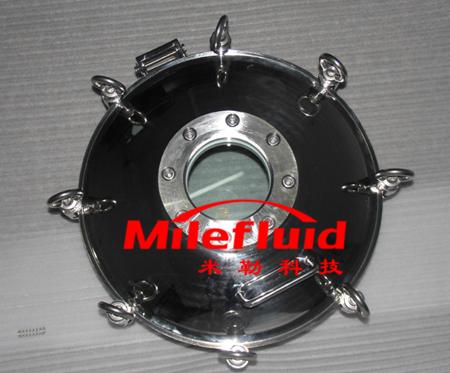 不锈钢吊环压力人孔,卫生级吊环压力人孔压力吊环人孔生产厂家