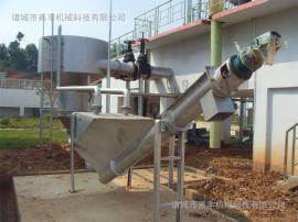 分离效率高的不锈钢螺旋砂水分离器、无轴螺旋输送
