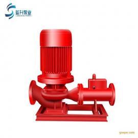 供��消防自���淋泵XBD3.2/20G-L立式�渭�消防泵