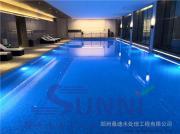 泳池beplay手机官方滨河国际新城亚新海棠公馆恒温恒湿无氯游