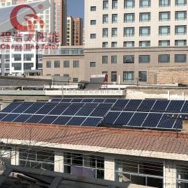 程浩甘 肃 酒 泉100kw 200kw 500kw工商业屋顶太阳能光伏发电系统CH-GF-100KW