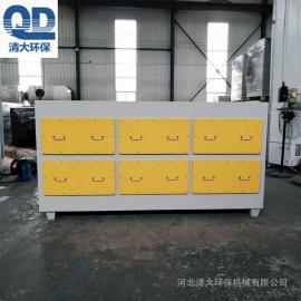 清大环�;钚蕴课�附箱 活性炭箱 废气处理设备 光氧净化器QD-HXT-20000