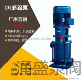 65DLx9多级离心泵65DL30-16x9水泵22kw高层公寓宾馆消防增压