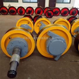 淬火调质车轮组 大车运行车轮组 双梁小车车轮 500双边车轮组