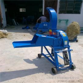 青贮铡草揉丝机视频 圣泰秸秆粉碎铡草机产地 现货直发